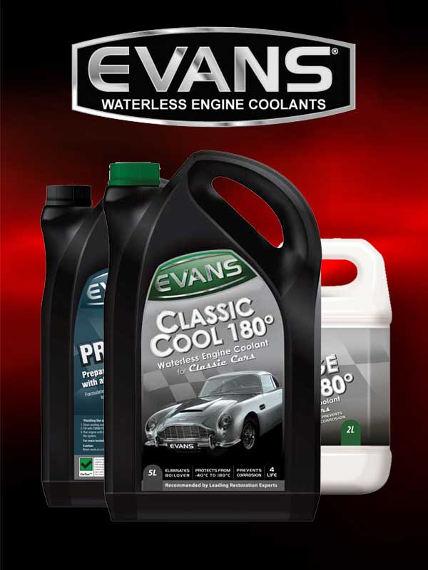 Rally Preparation Services Store Evans Coolant Product