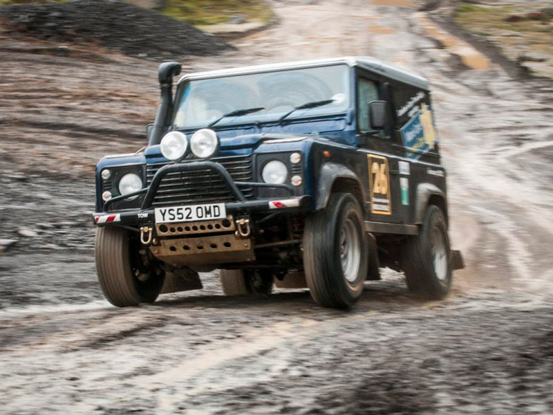 RPS Case Study Land Rover Defender Rally