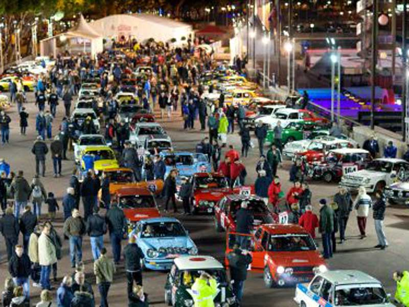 RPS Monte Carlo Crowd - Start of rally