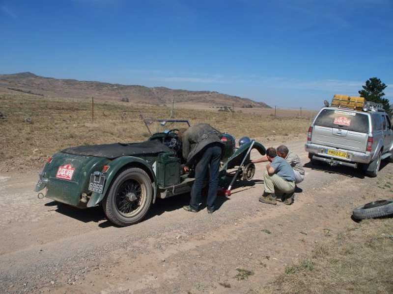 RPS Rudi in Africa