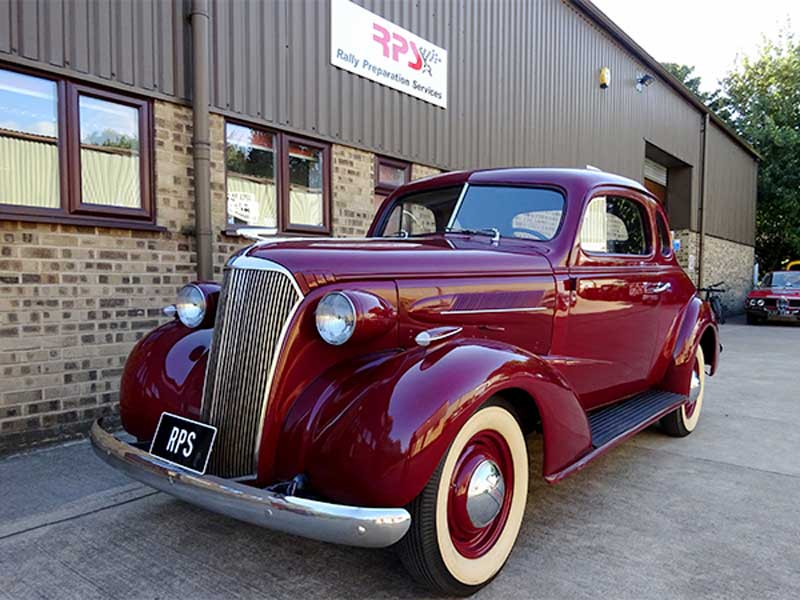RPS 1937 Series GB Chevrolet Master Coupe 2391