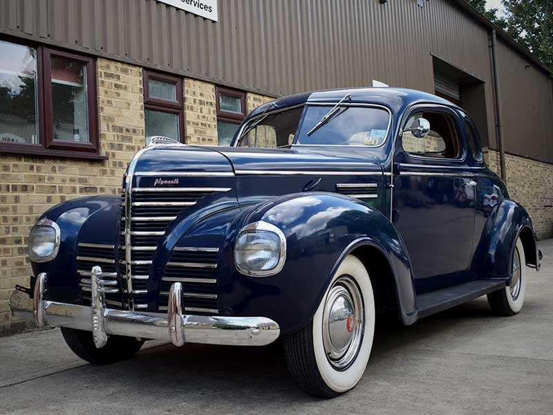 RPS 1939 Plymouth Coupe