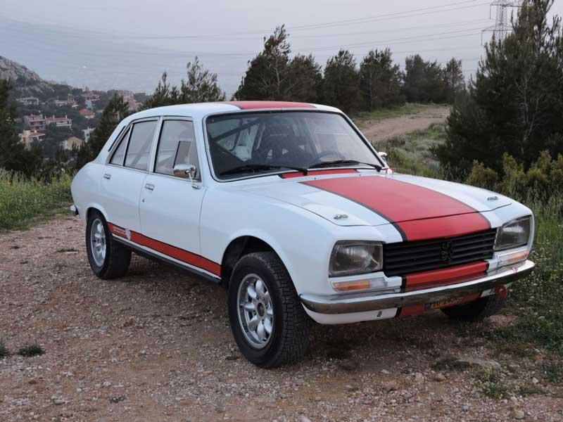 RPS 1972 Peugeot 504 Rally Winning Marathon Special Rally Car