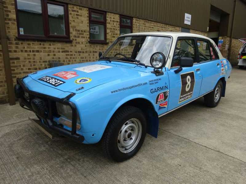 RPS 1979 Peugeot 504 Rally Car