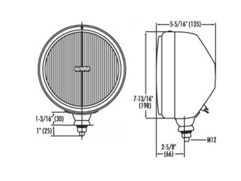 piaa-80-series-drive-lamp-with-bulb-and-cover-drawing