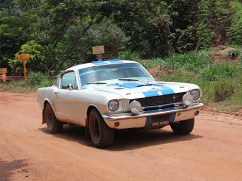 Bespoke Rallies Mustang on Rally