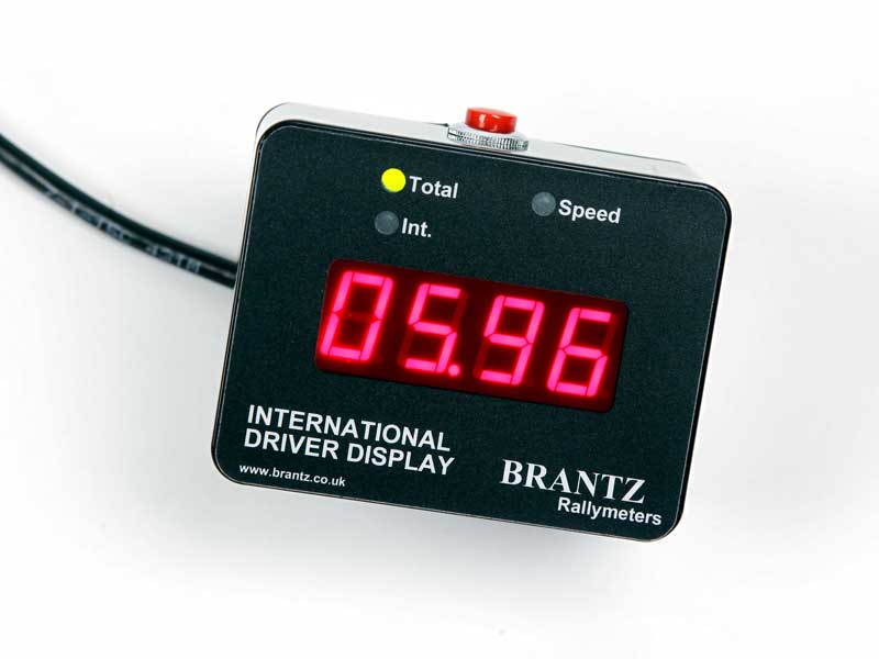 Brantz Rallymeters international-2-speed-driver-display-unit-br81