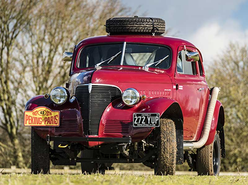 RPS Rally Prepped Car Peking to Paris