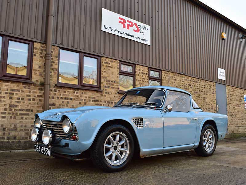 Rally Preparation Services – RPS 1963 Triumph TR4 Rally Car