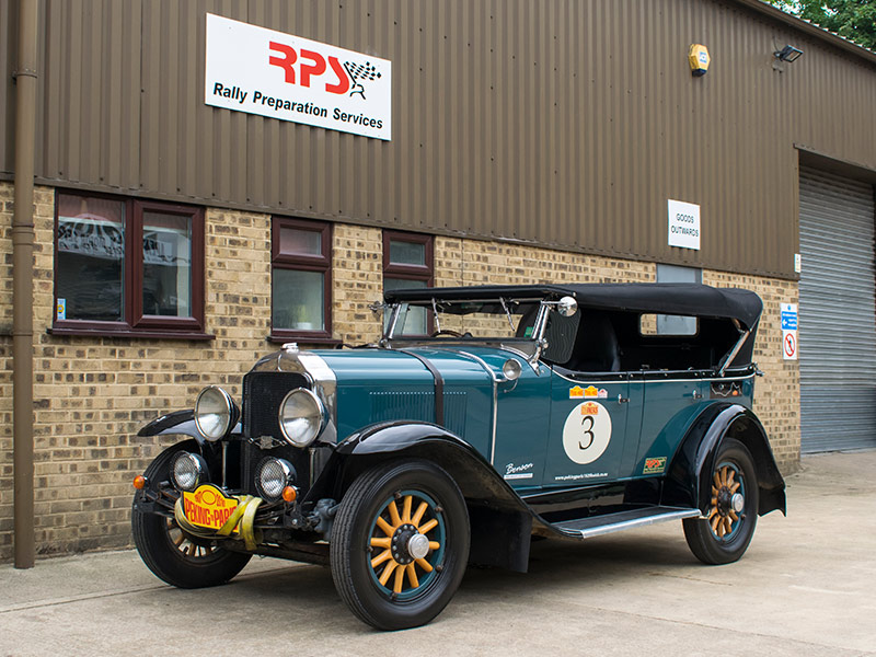1929 Buick Long Distance Rally Car Outside RPS