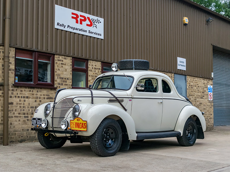 1939 Ford Coupe Rally Car Outside RPS