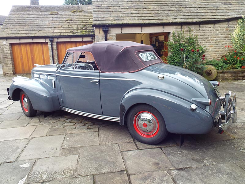 1940 Cadillac La Salle Rally Car | Price £80,000 - RPS - Rally ...