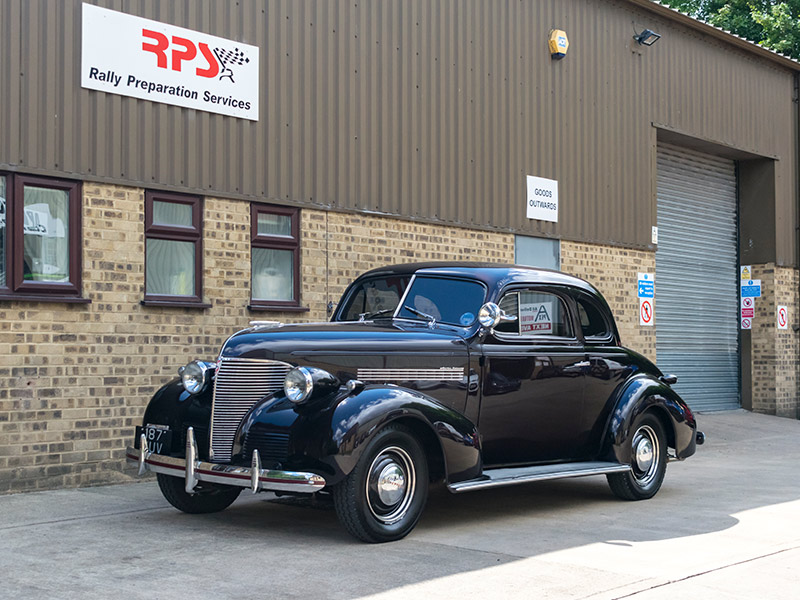 1939 Chevrolet Coupe Outside RPS