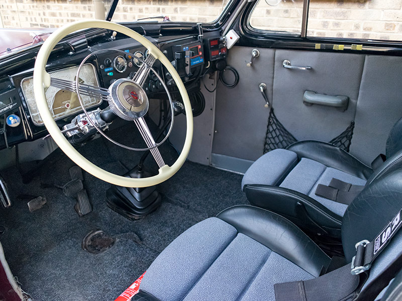 1937 Buick Series 40 Coupe Long Distance Rally Car Interior Rps