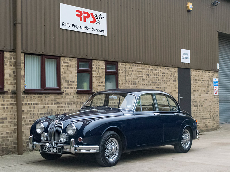c1962 Jaguar MK2 3.8 Outside RPS
