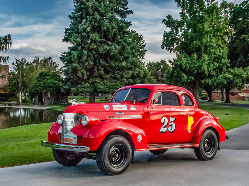 1939 Chevrolet Coupe Long Distance Rally Car