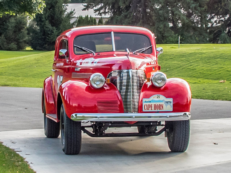 Classic Rally Car for Sale: 1939 Chevrolet Coupe Rally Car | Price ...