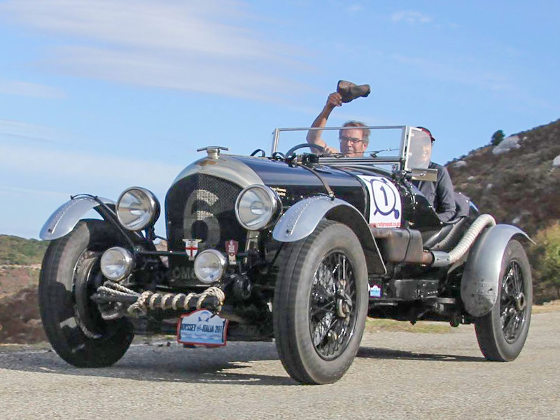 Bill Cleyndert Rallying 1924 Bentley 3-4½