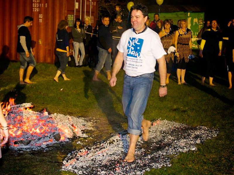 SeeSaw Charity Firewalk