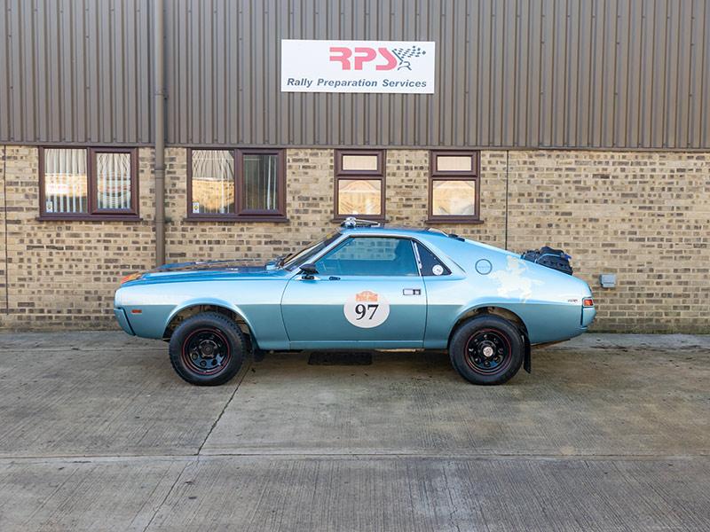 Rally Car For Sale - 1968 AMC AMX Rally Car | Price £100,000