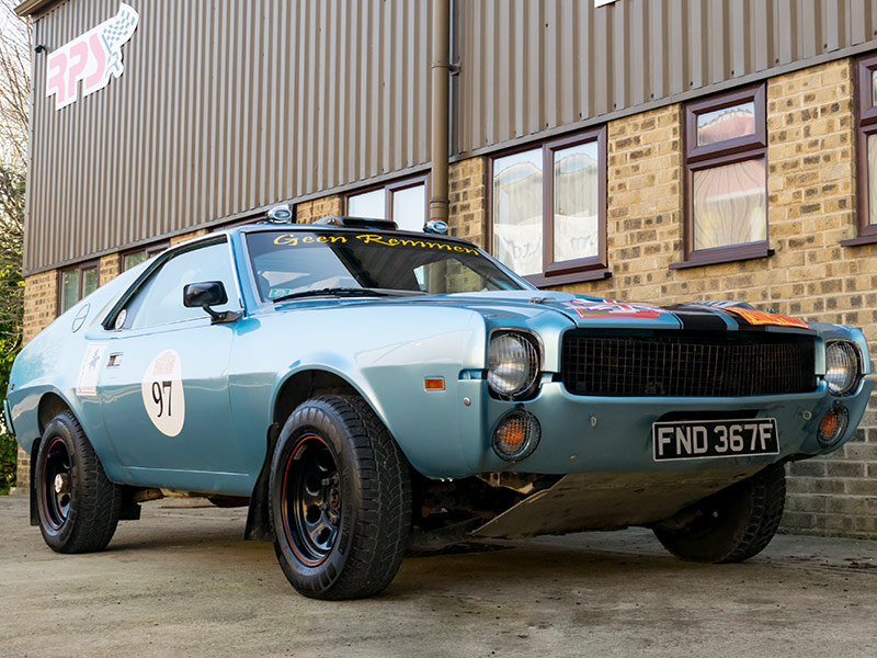 Rally Preparation Services Rally Car For Sale -1968 AMC AMX Rally Car RPS