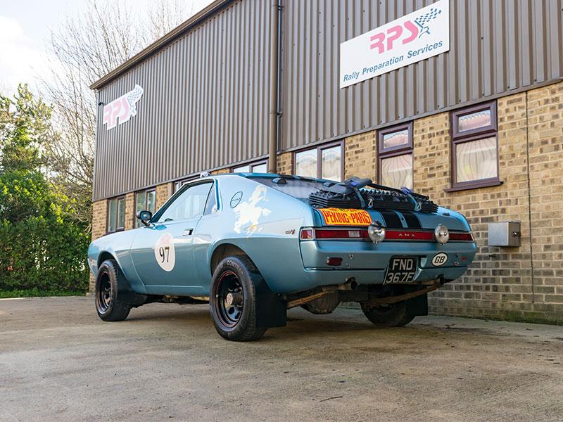Rally Car For Sale 1968 Amc Amx Rally Car Price 100 000
