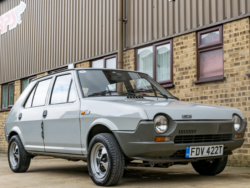 Rally Preparation Services Rally Car For Sale - 1979 Fiat Ritmo Strada 1.1 5dr Outside RPS