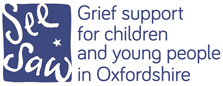 See Saw, Grief Support for children in Oxfordshire
