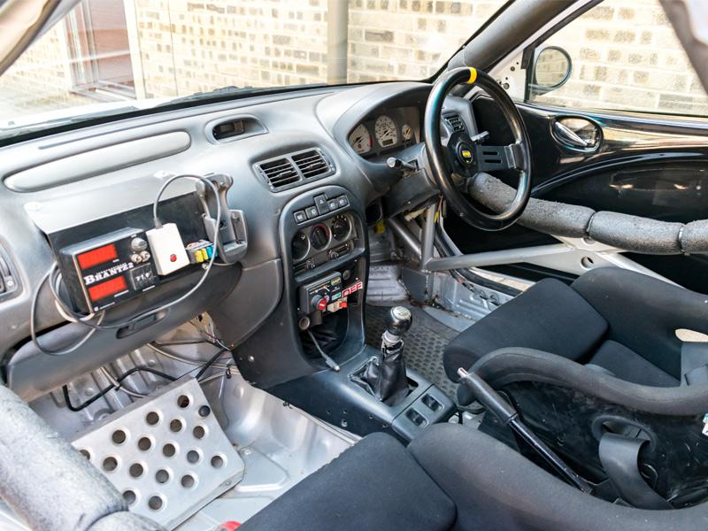 MG ZR Rally Car 1.8 VVC Interior - RPS - Rally Preparation Services