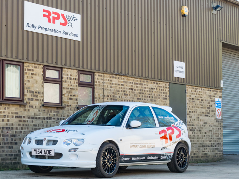 Rally Car For Sale - 2001 MG ZR /Rover 25 1.8 VVC Rally Car £5,000