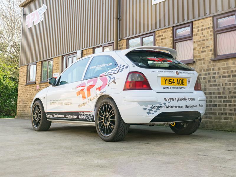 MG ZR Rally Car 1.8 VVC Rear 3 Q - RPS - Rally Preparation Services