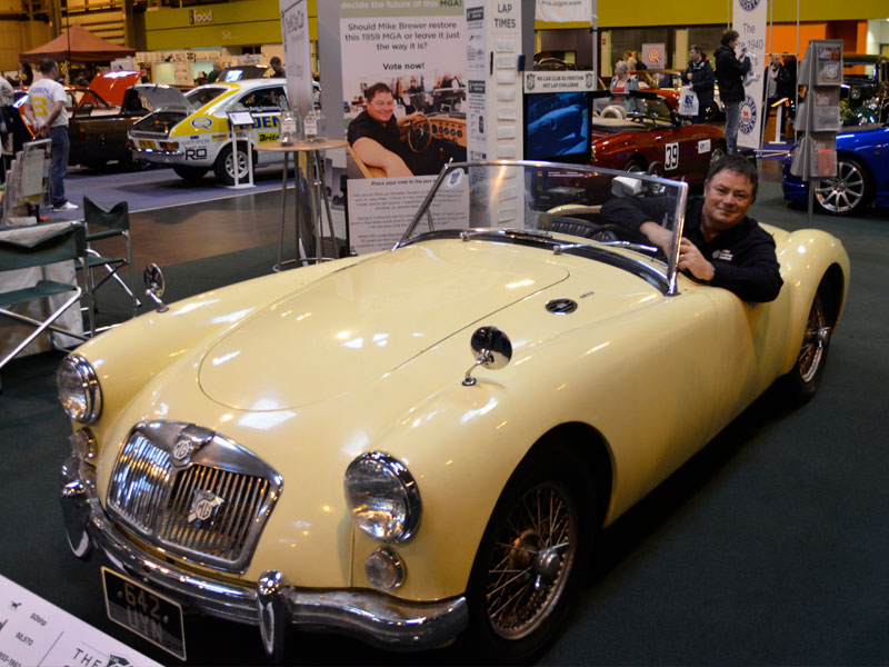 Project MGA - Wheeler Dealers Mike Brewer & Rally Preparation Services
