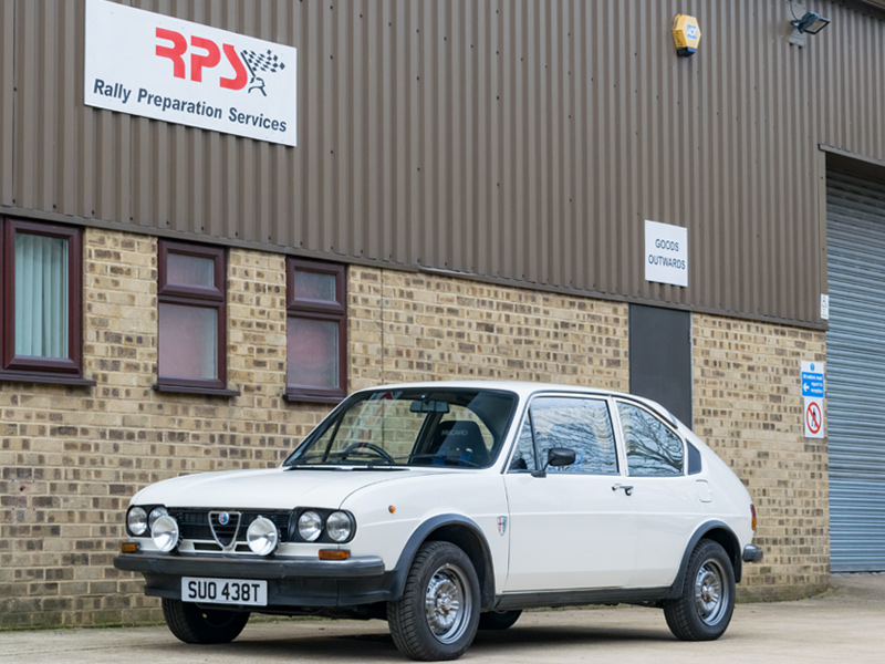 Classic Car For Sale: 1978 Alfa Romeo Alfasud Rally Car