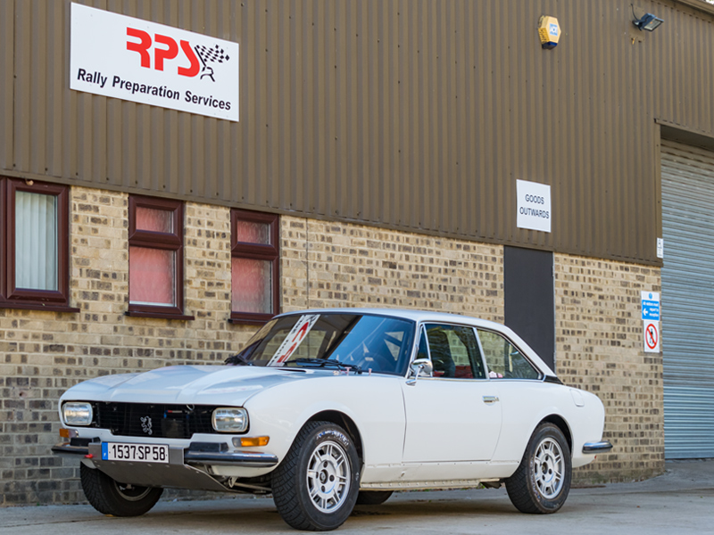 Classic Car For Sale: 1977 Peugeot 504 Coupe Rally Car