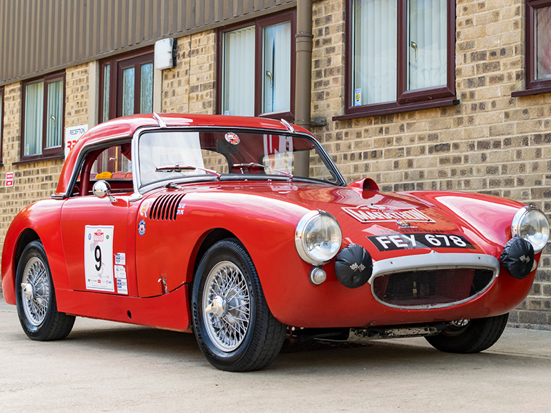 Rally Preparation Services (RPS) | Classic Car For Sale: 1959 Austin Healey Bonneville Sebring Sprite Rally Car