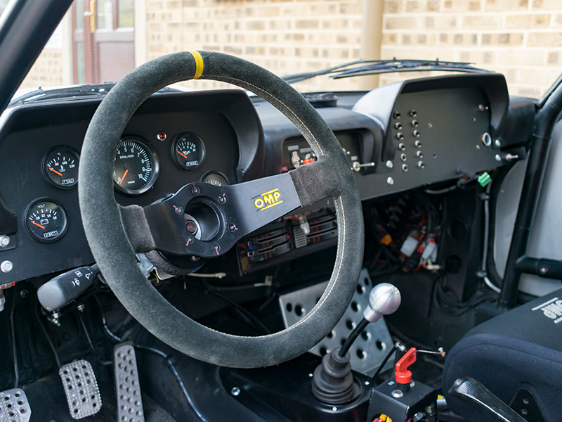 1977 Peugeot 504 Coupe Group 4 Classic Rally Car Interior 2 Rps