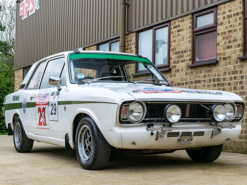 Classic Car For Sale | 1967 2.0 Lotus Cortina Classic Rally Car | Price £55,000