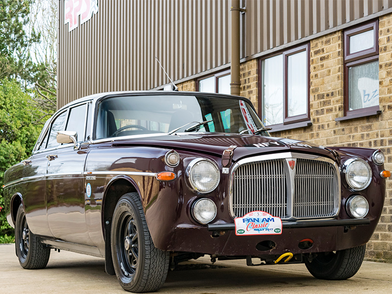 Classic Car For Sale | 1970 Rover P5B Coupe Classic Endurance Rally Car | Price £55,000