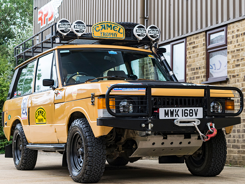 Classic Car For Sale | 1979 Camel Range Rover Classic Long Distance Rally Car | Price £35,000