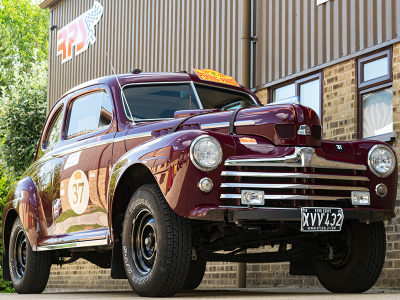 RPS | Classic Car For Sale | 1948 Ford Coupe Long Distance Rally Car