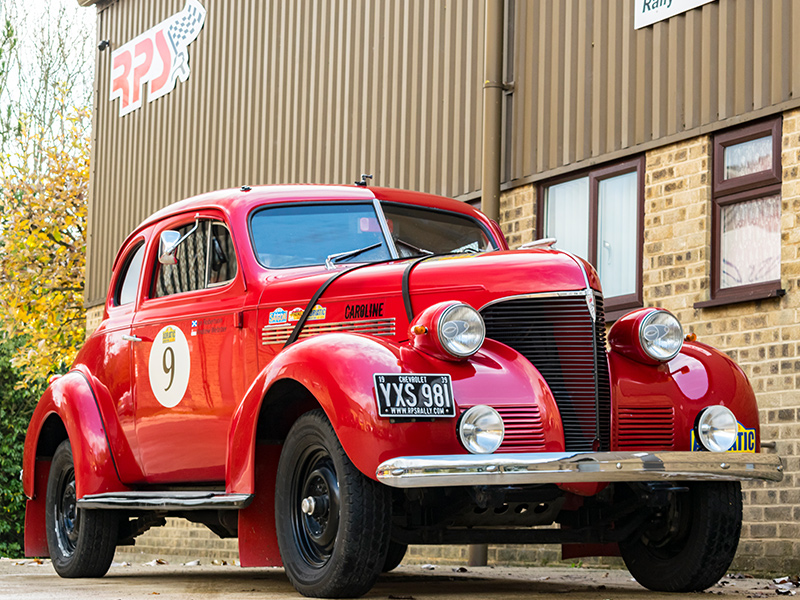 Classic Car For Sale | 1939 Chevrolet Long Distance Classic Rally Car | Price £75,000