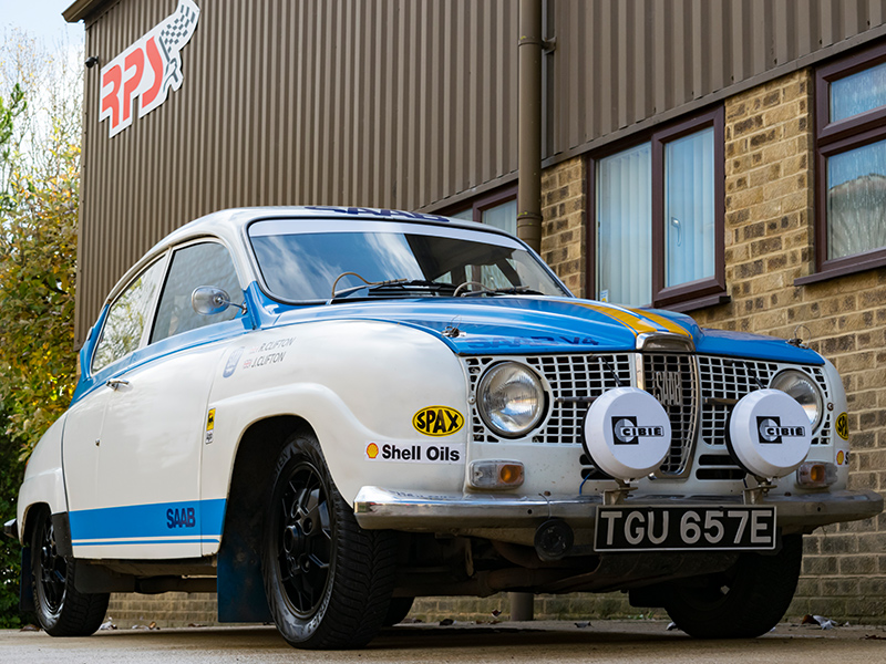 Classic Car For Sale | 1967 Saab 96 1500 V4 Classic Rally Car | Price £12,750
