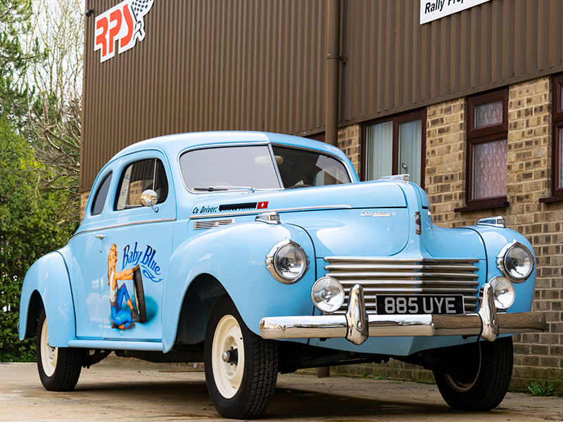 Classic Car For Sale | 1940 Chrysler C-36 Traveller Coupe | Price £40,000