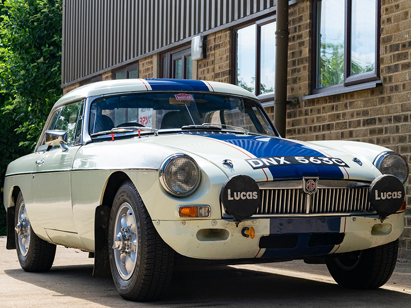 1965 MGB Roadster Classic Rally Car