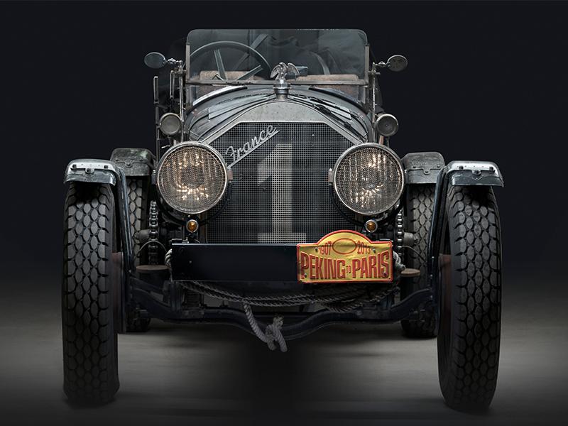 1917 American LaFrance Tourer Speedster Vintage Rally Car Front