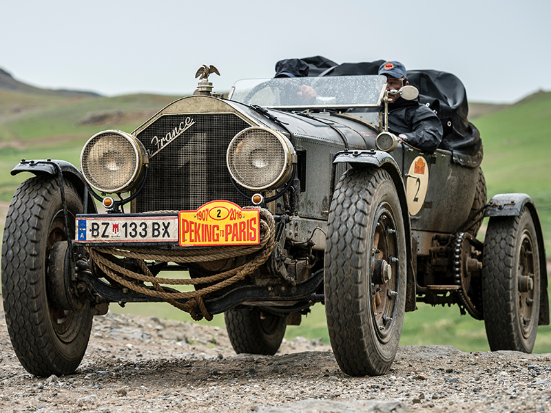 1917 American LaFrance Tourer Speedster Vintage Rally Car1
