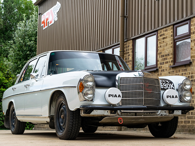 1971 Mercedes Benz 280S Classic Rally Car RPS