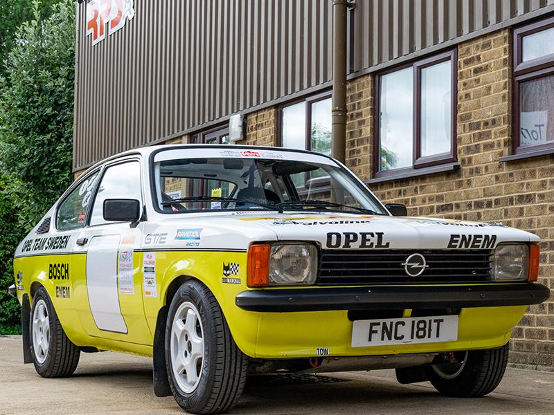 1979 Opel Kadett Rally Car RPS