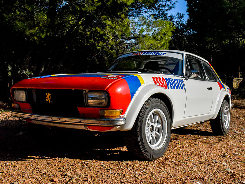 1979 Peugeot 504 Wide-Bodied Coupe Rally Car